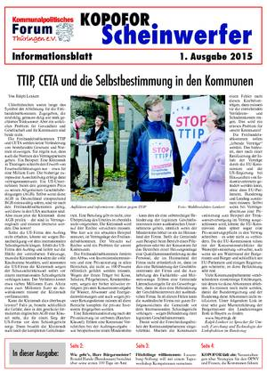 Vereinsblatt 1 Ausgabe 2015