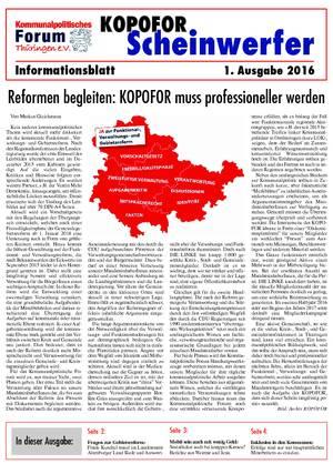 Vereinsblatt 2 Ausgabe 2016