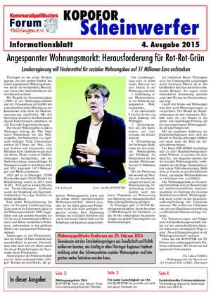 Vereinsblatt 4 Ausgabe 2015
