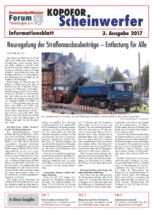 Thueringengestalter Vereinsblatt 03-2017